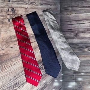 Men's tie mixed lot 👔 Calvin Klein - Sean John